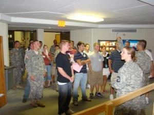 freshman cadet orientation fall 2008