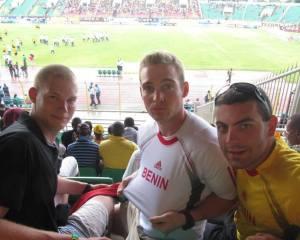 Attending a Soccer Match in Benin